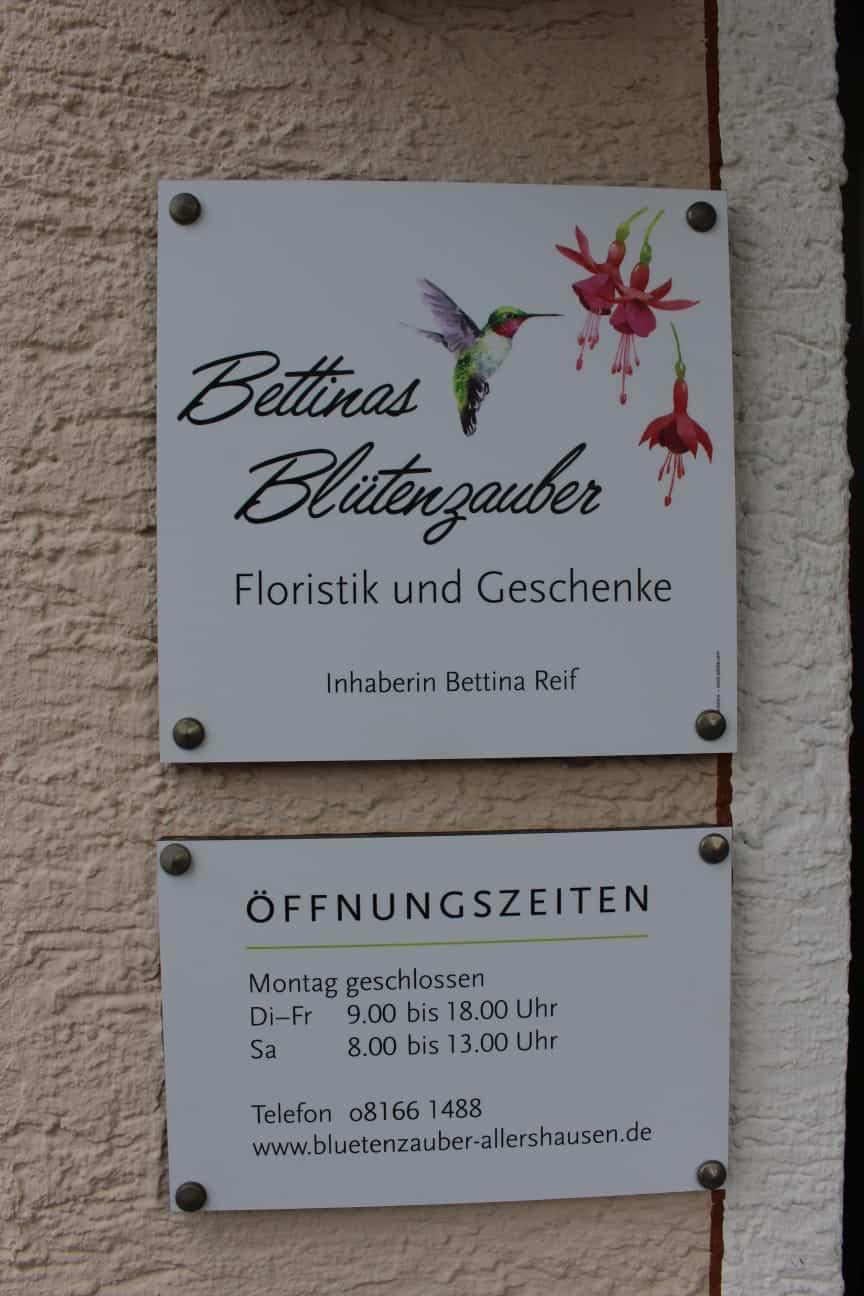 Florisitk und Geschenke von Bettinas Blütenzauber Allershausen